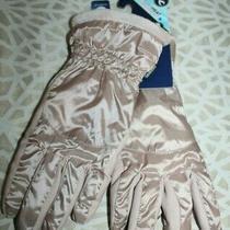 Nwt Isotoner Women's Sleek Heat Glove Touchscreen Smartdri Dusted Blush Pink1sz Photo