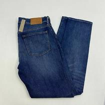 Nwt J. Crew 484 Denim Jeans Men's W33xl32 Blue 5-Pocket Zip Fly Slim Fit Casual Photo