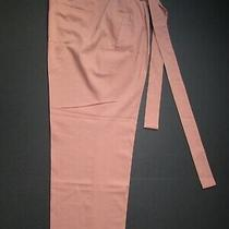 Nwt J.crew Collection Wool Stretch Tie Waist Trouser Pants Blush Size 14 Photo