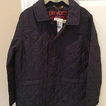 Nwt J.crew Crewcuts Navy Quilted Barn Jacket. Size 4-5 Photo