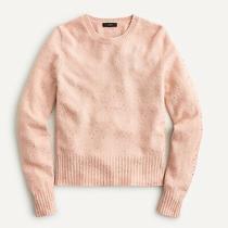 Nwt J.crew Gemstone Sweater in Supersoft Yarn Deep Blush Pink Size M Photo