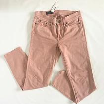 Nwt J.crew Sateen Toothpick Pant Pink Quartz Size 27 Photo