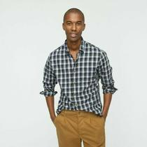 Nwt J. Crew Slim Brushed Twill Shirt Campbell Tartan Button Down Mens Size Small Photo
