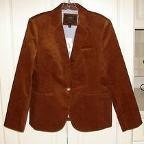 Nwt J Crew Sz 12 Petite Chai Brown Corduroy Campbell Blazer Jacket F6228 Photo