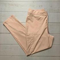 Nwt - Jaanuu - Womens Blush Charge Cargo Drawstring Scrub Pants - Size Large Photo