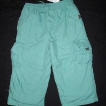Nwt Janie & Jack Icebound Adventure Aqua Pants 18-24 M Photo