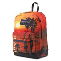 Nwt Jansport High Stakes Backpack Multi School Backpack Sunset Trs70bv  Photo
