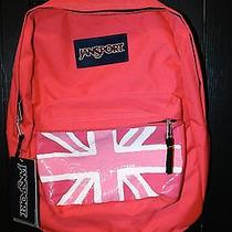 Nwt Jansport Pink Backpack Hand-Painted Photo