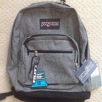 Nwt Jansport Right Pack Expressions Tzr6zh0 Black White Two Tone Twill Backpack Photo