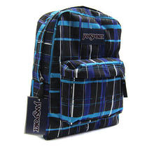 Nwt Jansport Superbreak School Backpack Mammoth Blue Painted Photo