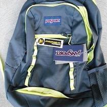Nwt Jansport Wavelength Gray/wild Backpack 15