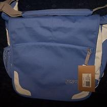 Nwt Jansport White/lavender Lucious Lavender 4bv Messenger Computer Bag Backpack Photo
