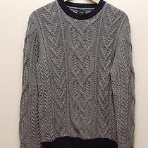 Nwt Jcrew Cable Men Sweater Size L in G Photo