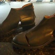 Nwt  Jeffrey Campbell Great Moments Black Short Booties  6.5m Photo
