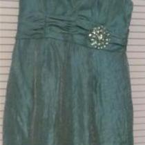 Nwt Jessica Howard Aqua Short Cocktail Dress Women's Size 12 Photo