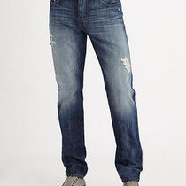Nwt Joes Jeans Mens Size 32 (34 X 38) Tall Brixton Easton Distressed 3202 Photo