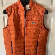 Nwt Johnnie-O Men's Hudson Puffer Vest in Rust Orange Size 2xl Packable Photo