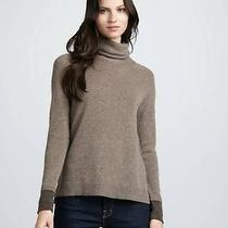 Nwt Joie Marthe Cashmere Turtleneck Sweater Tunic Brown M/medium 288 Photo