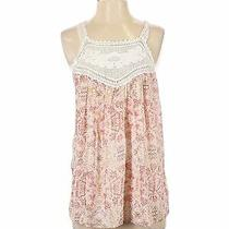 Nwt Joie Women Pink Sleeveless Silk Top S Photo