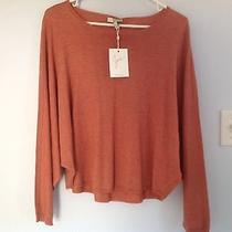 Nwt Joie Women's Batwings Sweater Size S in Heather Pale Clay Cashmere  Blend Photo