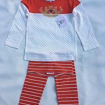 Nwt  Juicy Couture Baby Girls Leggings Set Size 3/6m Photo