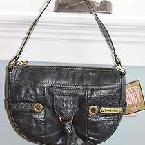 Nwt Juicy Couture Class President Blue Leather Medium Tassel Hobo Purse 198 Photo
