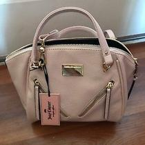 Nwt Juicy Couture Crossbody Front Diagonal Zippered Pink Satchel Handbag Purse Photo