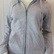 Nwt Juicy Couture Heather Cozy Fleece Hoodie Faux Fur Size M Retail 168 Photo