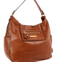 Nwt  Juicy Couture Ms Pippa Hobo  Leather  Cognac  / Saddle  Amazing Photo