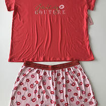 Nwt Juicy Couture Sleepwear Plus Size Pj Set Size 2x Photo