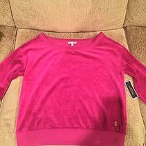Nwt Juicy Couture Velour Pullover Photo