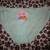 Nwt Junior Panties Disney Winnie the Pooh Tinkerbell 100% Cotton Classic Bikini Photo