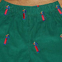 Nwt K & L Vive La Fete Boutique Green Corduroy Golf Bag Pull-on Pants Boys 2t Photo