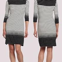 Nwt Karen Kane 3/4 Sleeve Stripe Work Dress S Photo