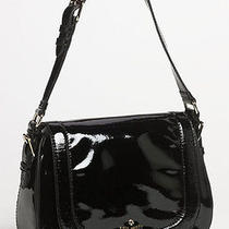 Nwt Kate Spade Carlisle Street Piper Black Patent Shoulder Bag Purse Handbag New Photo