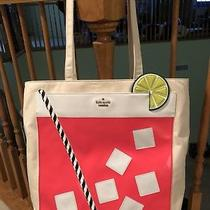 Nwt Kate Spade Cocktail Trompe l'oeil Tote Bag - Multi Color Photo