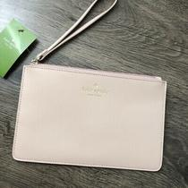 Nwt Kate Spade Eli White Street Dolce Light Pink Wristlet Clutch Retail 79 Photo