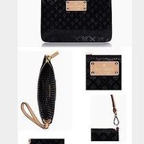 Nwt- Kate Spade Emerald Avenue Lolly Black Bag ( Wristlet) Handbag Photo