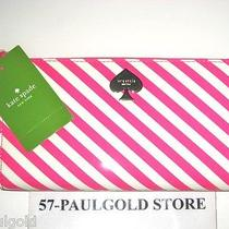 Nwt Kate Spade First Prize Lacey Clutch Zip Around Wallet Vivid Snapdragon New Photo