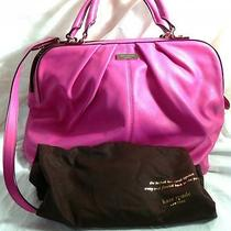 Nwt Kate Spade New York Five Points Camille Leather Purse Bag  Hot Fuschia Photo
