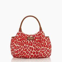 Nwt Kate Spade New York Into the Wild Pink Orange Small Karen Shoulder Bag  268 Photo