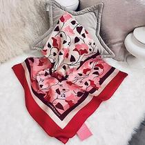 Nwt Kate Spade Nouveau Bloom Scarf 100% Silk Bag Tie 20