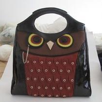 Nwt Kate Spade Owl Handbag Maximilian Maxwell Purse Suede Patent Leather New Photo