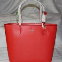 Nwt Kate Spade Sawyer Street Maxi Leather Tote Bag Purse Lacquer Red Photo