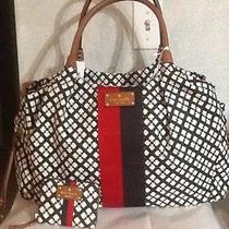 Nwt Kate Spade  Stevie Classic Spade Chocolate Baby Diaper Bag  Plus Card Case Photo