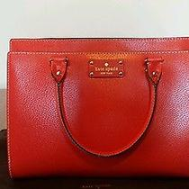 Nwt Kate Spade Wellesley Lacquerred Red Wkru2486 Handbag Photo