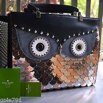 Nwt Kate Spade Wise Owl Quinn Purse With Ksny Gift Receipt & Dust Bag Beautiful Photo