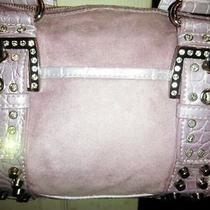 Nwt Kathy Van Zeeland New Times Square Blush Pink Satchel Handbag Purse Bling Photo