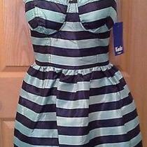 Nwt Keds Juniors Spaghettistrap Taffeta Dress Size Large Prom Photo
