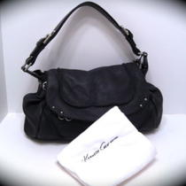 Nwt Kenneth Cole Hang Glide Large Flap Leather Hobo Photo